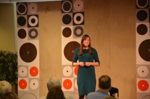 TEDxSpringfield 2015 Angela Lussier